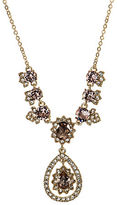 Marchesa Goldtone Brass Y-Necklace