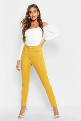 boohoo High Waist Skinny Jeans