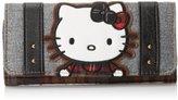 Hello Kitty Plaid & Tweed Wallet