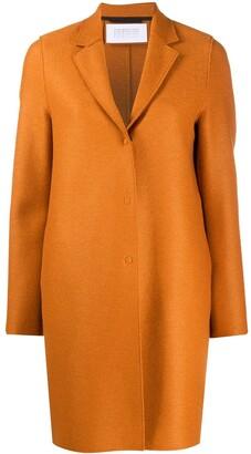 Harris Wharf London Classic Single-Breasted Coat