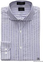 Banana Republic Monogram Grant Slim-Fit Italian Cotton Stripe Dress Shirt
