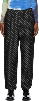Ambush Black Viscose New Pajama Lounge Pants