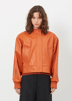 Jil Sander rust/c caddie lh leather jacket