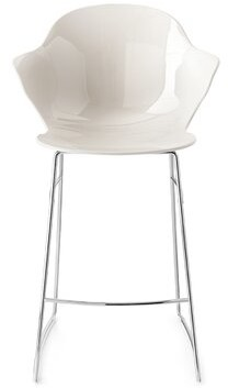 Calligaris Saint Tropez 25.63'' Counter Stool Color: Transparent