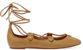 Isabel Marant Lali lace-up leather ballet flats