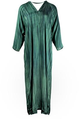Rabens Saloner - Boel Astral Dress - viscose | forest green | M/L - Forest green