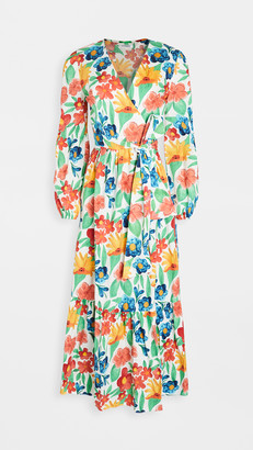 Glamorous Large Bright Floral Dress