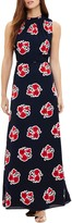Phase Eight Grace Floral Maxi Dress, Navy/Red