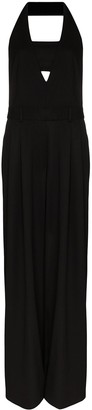 Tom Ford Halter Neck Wide Leg Jumpsuit