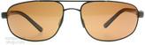 Serengeti Livigno Sunglasses Satin Dark Drown 7771 Polariserade