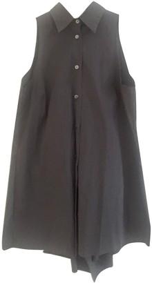 Prada Grey Linen Top for Women