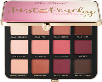 Too Faced Just Peachy Mattes Eyeshadow Palette Peaches and Cream Collection