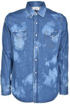 Saint Laurent Distressed Jean Shirt
