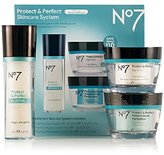 Boots Protect & Perfect Skincare System Includes Protect & Perfect Day Cream SPF 15(1.6 fl.oz),Protect & Perfect Night Cream(1.6 fl.oz) and Protect & Perfect Advanced Serum(1 fl.oz)