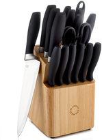 Martha Stewart Collection Soft Grip Cutlery, 17 Piece Set