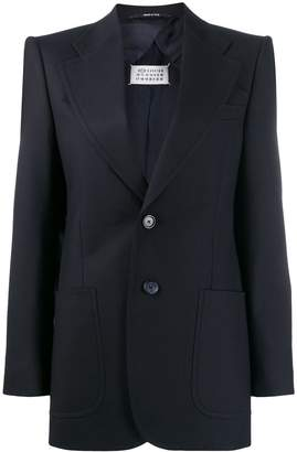 Maison Margiela structured shoulders blazer