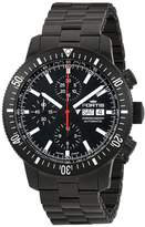 Fortis Men's 638.18.31 MPVD Monolith Chronograph Analog Display Automatic Self Wind Watch