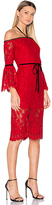 Alexis Odette Dress in Red