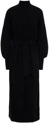 Zimmermann Belted Wool-blend Midi Dress