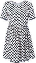Kenzo geometric print dress - women - Silk - 36