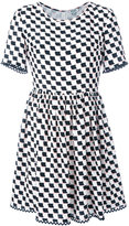 Kenzo geometric print dress - women - Silk - 38