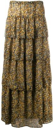 BA&SH Printed Skirt