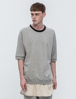 3.1 Phillip Lim Layered S/S Sweatshirt