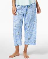 Hue Play Nice Printed Capri Pajama Pants