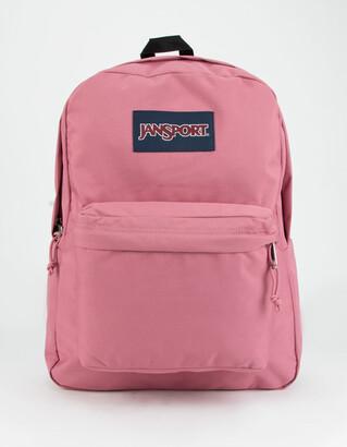 JanSport SuperBreak Blackberry Mousse Backpack