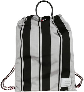 Thom Browne Drawcord Backpack