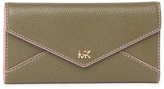 MICHAEL Michael Kors Slim Leather Trifold Envelope Wallet