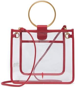 THACKER Le Pouch Peekaboo Clear Crossbody Bag