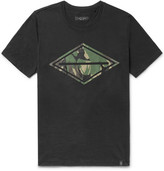 Rag & Bone Printed Cotton-jersey T-shirt - Black