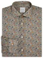 Paul Smith Italian Liberty Print Slim Fit Dress Shirt