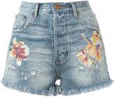 One Teaspoon denim shorts - women - Cotton - 25