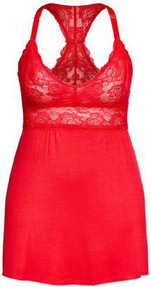 City Chic Kira Chemise - tango red