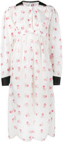 Loewe floral print long sleeve dress