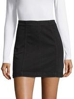 Free People Seamed Mini Skirt