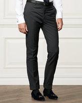 Ralph Lauren Flat-front Wool Trouser