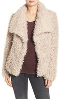 Betsey Johnson Women's Faux Fur Jacket
