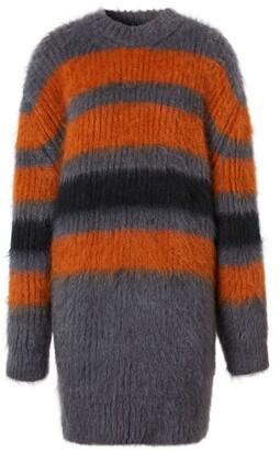 Burberry Striped Intarsia Sweater