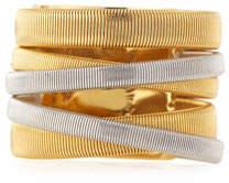 Marco Bicego Masai Yellow & White Gold Five Strand Ring
