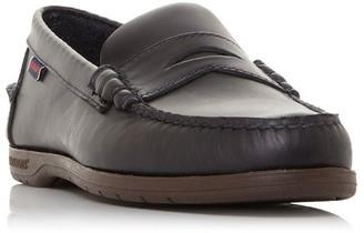 Sebago Thetford Slip On Leather Moccasins