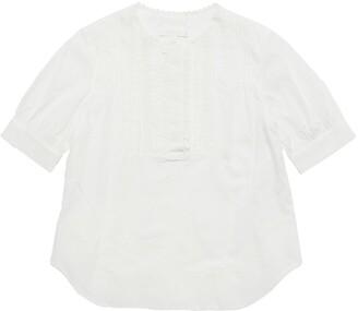 Chloé Cotton Percale Top