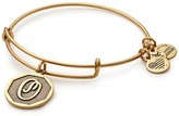 Alex and Ani Initial 'O' Adjustable Wire Bangle