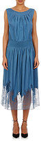 Nina Ricci Women's Lace-Hem Dress-BLUE