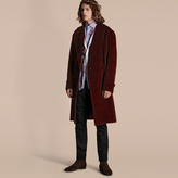 Burberry Brushed Prince Of Wales Check Alpaca Wool Chesterfield