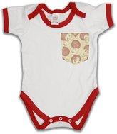 Buzz Shirts Pizza Pocket Funny Slogan Boys & Girls Unisex Baby Grow Bébé Grandir