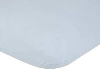 John Lewis & Partners GOTS Fitted Round End Sheets For Moses Baskets & Prams, Pack of 2