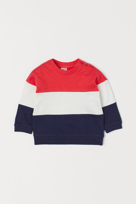 H&M Cotton Sweatshirt - Blue